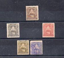 Nicaragua valores del año 1898 (AO-4)