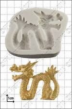 Silicone mould Chinese Dragon (Left) | Food Use FPC Sugarcraft FREE UK shipping!