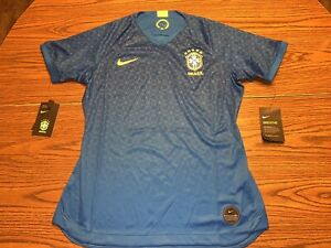 Nike Dri-Fit World Cup Brazil 2019 Away Stadium Soccer Jersey Size M AJ4389-453
