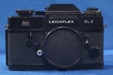 Leicaflex SL2, black, Leica camera. Clean, working perfect, serviced, L@@K!