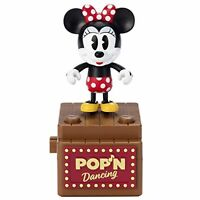 Disney POP 'N Dancing Pop Dancing minnie mouse Action Figure F/S w/Tracking# NEW