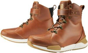 Varial Full Grain Leather Boots - Brown Men's Size 12 Icon 3403-0990