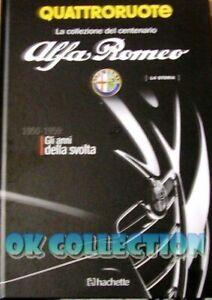 LIBRO CENTENARIO ALFA ROMEO 1950-1959 - Book Centenary Alfa Collection Hachette