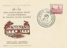 Poland postmark KALISZ - philately M.DABROWSKA (analogous)
