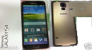**High Quality** Samsung Original Dummy Galaxy S5 Gold  G900 Display Toy Fake