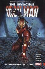 Invincible Iron Man Tpb Search For Tony Stark #593-600 New/Unread