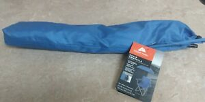 OZARK TRAIL Chair Umbrella With Universal Clamp, Blue UPF 50 Clips on chair NWT
