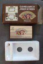 jeu nintendo game and watch donkey kong 2  1983 TBE en boite +frigolite testé