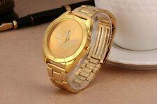 Reloj Adidas dorado para hombre de acero quirúrgico y bañado en oro