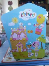 New Lalaloopsy Collector Case tin full size Doll Accesories pet Holder