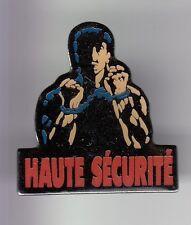 RARE PINS PIN'S .. CINEMA FILM MOVIE SYLVESTER STALLONE HAUTE SECURITE PRISON~DE