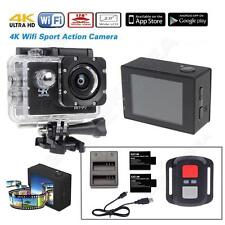 SJ8000 4K 30fps MOV Sony IMX179 Sensor WIFI Sports Camera+Remote+Battery+Charger