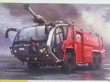 Flugfeld Feuerwehr Panther 6x6 Rosenbauer - Hasegawa Bausatz 1:72 - 54005   #E