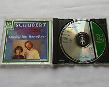 SCHUBERT/M.J.PIRES-H.SERMET Fantasy D940-Marches-Rondos CD ERATO ECD 75469 (1989