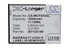 3.7 v Batería Para Mobistel cynus F8 Li-ion Nueva