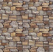 - 2 sheets 1/24 Scale 210x290x1Mm Bumpy Brick Wall Self Adhesive 3D Look Feel #5