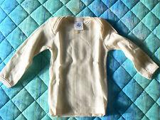 NUOVO Petit Bateau maglia intima bimbi lana e cotone 6mesi