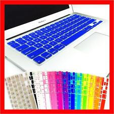 """Keyboard Cover Protector for Apple Mac Book Pro 13.3"""" 15.4"""" 17 inch Mac Book Air"""