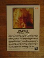 Playboy July 1974 Centerfold Collector's Cards 1996 Card #63