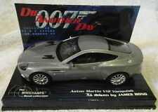Minichamps 1:43rd scale Aston Martin V12 Vanquish as driven by James Bond