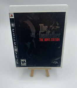 The Godfather The Don's Edition PlayStation 3 PS3 Game Complete CIB
