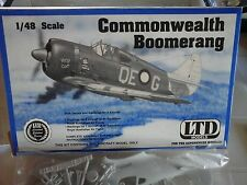 COMMONWEALTH BOOMERANG 1/48 SCALE LTD MODEL+RESIN PART+ VACUFORM PART