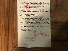 Hank Ketcham Dennis The Menace Cartoonist Memo Logo Memo To Tom Paddock Signed