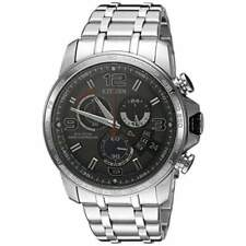 Citizen Eco-Drive Men's BY0100-51H   A-T Chronograph Alarm Grey Dial 44mm Watch