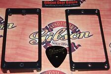 Gibson Les Paul Pickup Rings Bracketless Mounting HP Guitar Parts Black Custom T