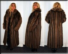New Raccoon Fur Coat Size Medium 6 8 M Efurs4less