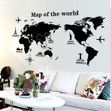 Vinilos decorativos infantiles mapamundi viajes del mundo. DOCLIICK DC-AY1933-17
