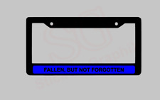 USVI VIRGIN ISLANDS Chrome Metal Auto License Plate Frame with car banner flag