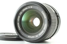 [EXCELLENT]  Canon New FD 28mm F2 NFD MF Lens From JAPAN #552