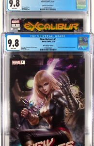 Excalibur And New Mutants 1 Unknown Chew Anacleto Variant CGC  9.8 Comic Lot Set