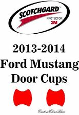 3M Scotchgard Paint Protection Film Clear Bra Pre-Cut 2013 2014 Ford Mustang