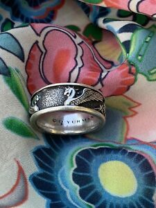 David Yurman Griffin Men's Ring in Sterling Silver Size 9.5