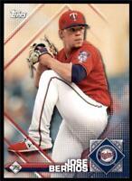 2020 MLB Sticker #72 Jose Berrios - Minnesota Twins