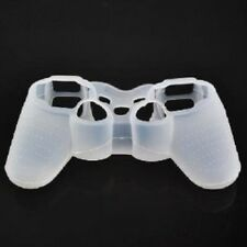 White Silicone Protective Case Cover For Sony Play-station 3 PS3 Controller
