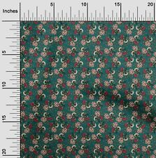 oneOone Leaves & Floral Block Print Fabric By Yard - BP-1313B_10