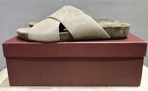 ATP - All tomorrows Parties Ponyskin Slides - Shoes RRP £219 Size: UK7 -EU40 BN