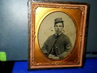 Civil War Soldier 1/6th size ID'd as Gilford Bow with partial Tax Stamp