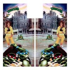 Teenage Mutant Ninja Turtles Arcade Side Art Tmnt Konami - Premium 3M Film