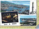 Cartolina - Postcard - Gruss aus - Saluti da - Genova - barche - 1964