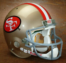 "SAN FRANCISCO 49ers Football Helmet FRONT ""49ERS"" Decal JOE MONTANA"