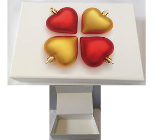 Luxury Foliding Gift Box Heart Pictures with Magnetic Lid Brand Medium Gift Box