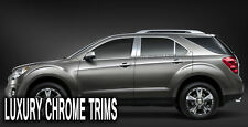 Chevy Equinox Stainless Steel Chrome Pillar Posts by Luxury Trims 2010-2017 (6p)