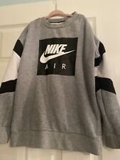 Nike Air Max Sweatshirt Tracksuit Top M 10-12 Years Unisex Boys / Girls