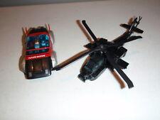 WARPATH & FUTURE MACHINE APACHE HELICOPTER SUPER GOBOT GOBOTS 1985 TONKA