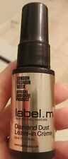 Label.M Diamond Dust Leave-In Creme 1 oz Trial Travel Size