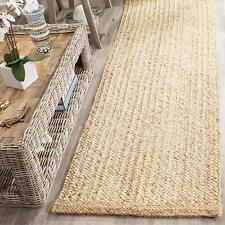 Runner Jute Rug Natural Handmade 100%Natural Jute Area Carpet Reversible Rug